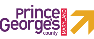 Prince George's County Maryland Logo on a digital agency website